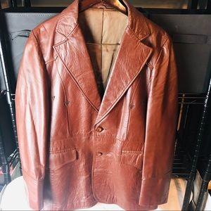 Pioneer Wear Western style leather Blazer/coat.